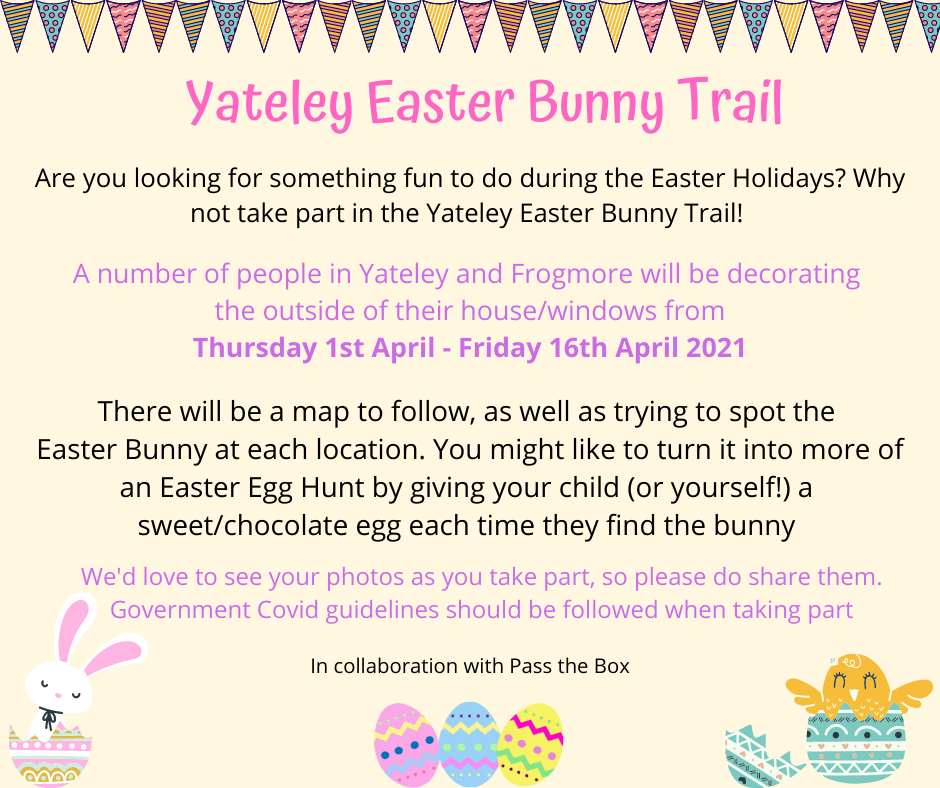 yateley easter trail 2021