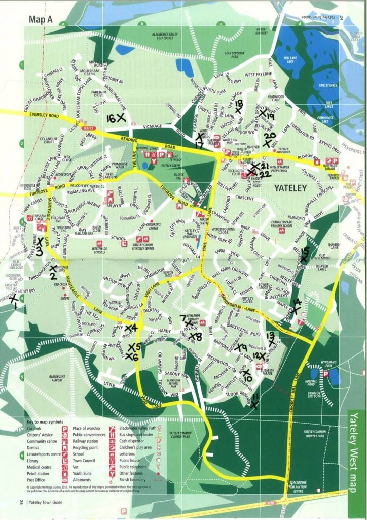 yateley-map