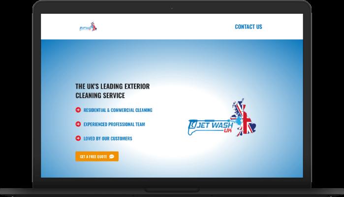 jetwash uk website screengrab